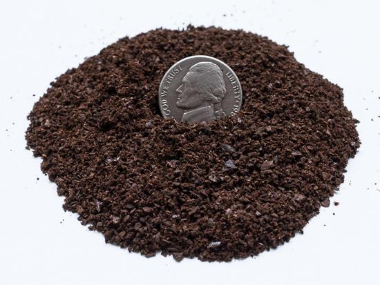 medium grof gemalen koffie